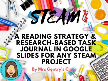 STEAM task journal